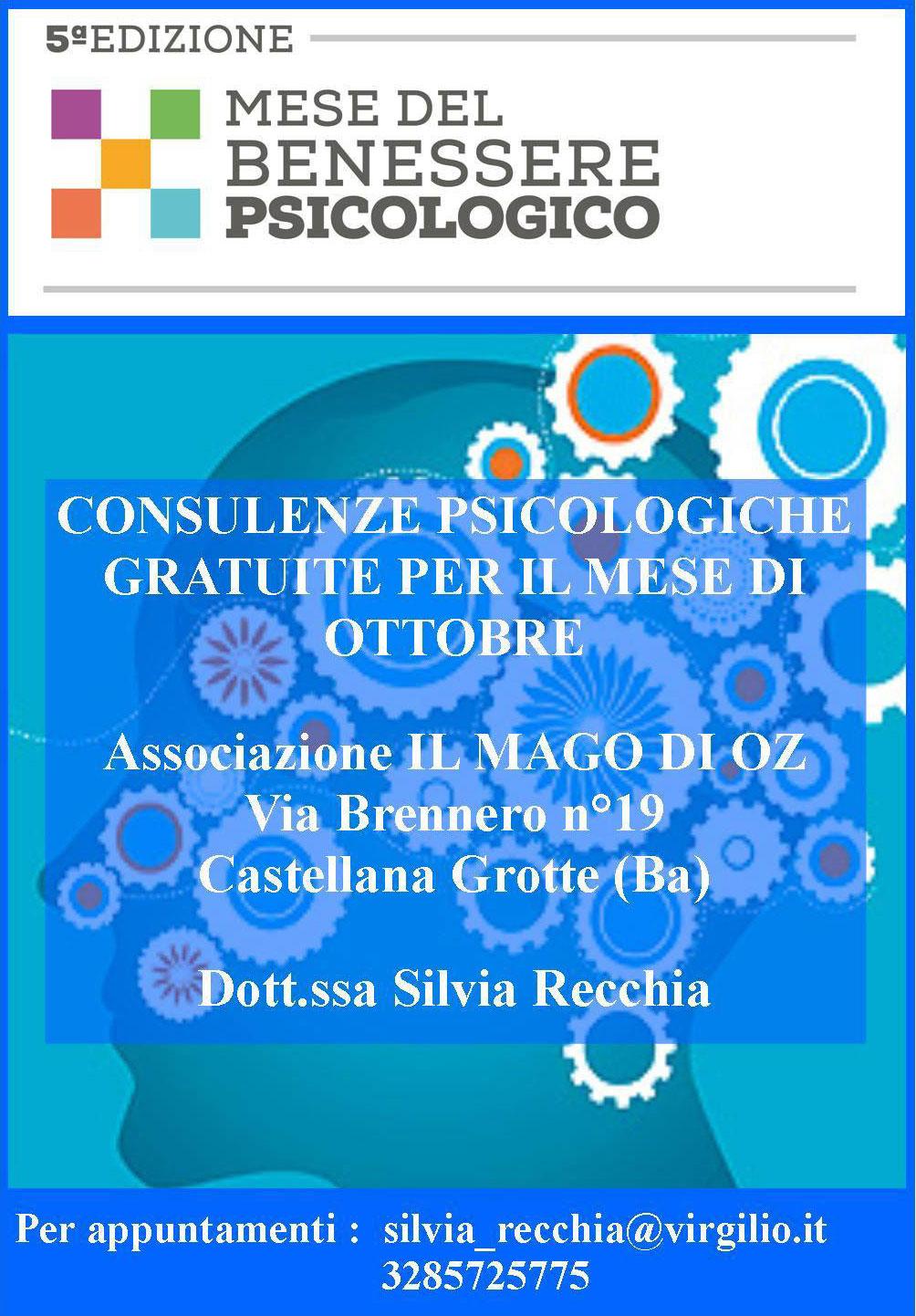 5a edizione del mese del benessere psicologico